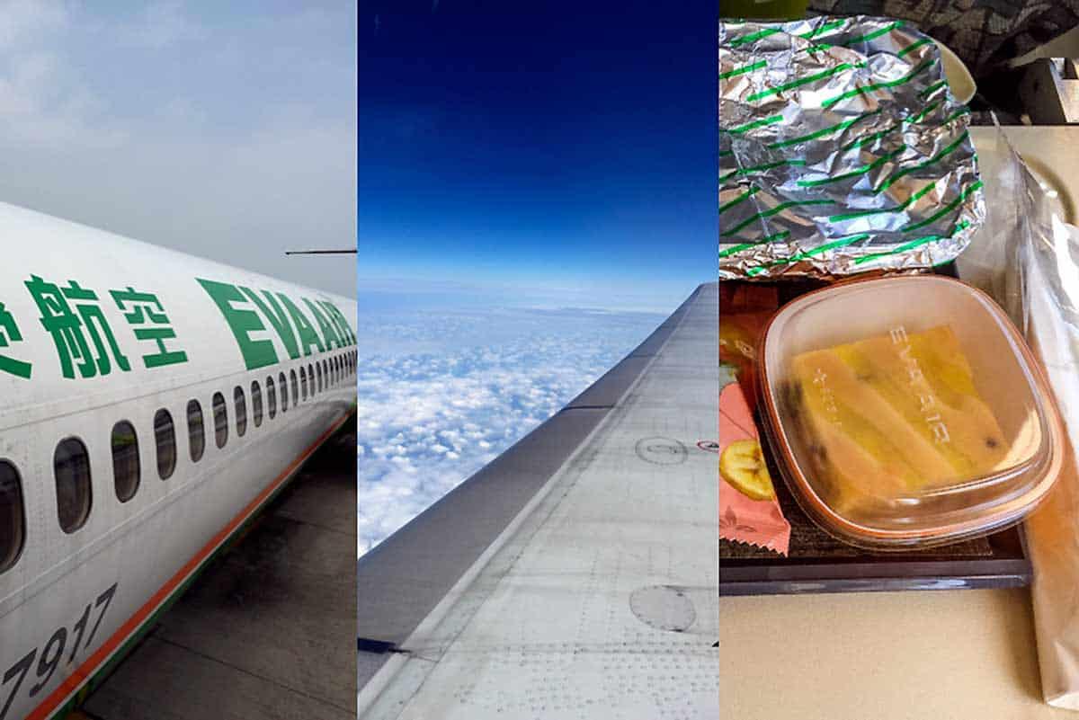 Anmeldelse af EVA Air Economy Class