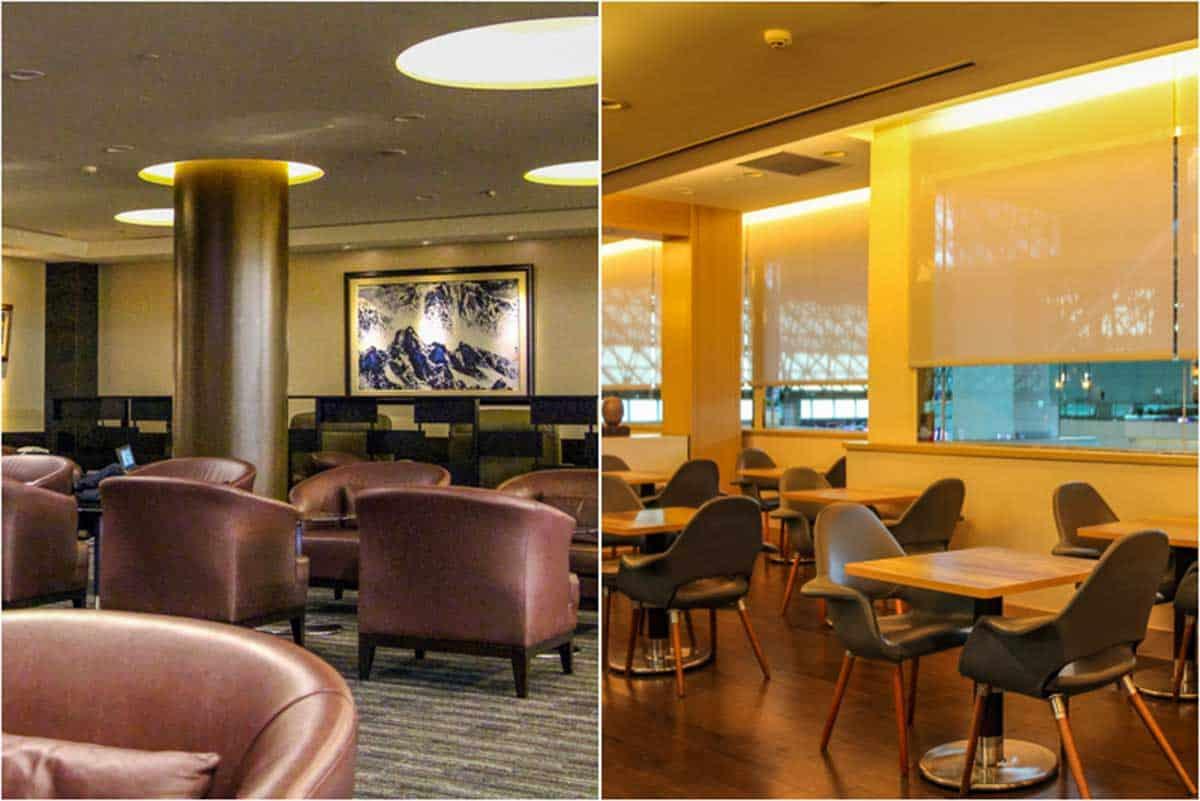 Anmeldelse af EVA Air The Star lounge - Taiwan Taoyuan International Airport