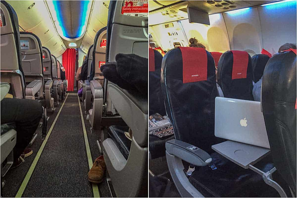 Anmeldelse af Norwegian Economy Class