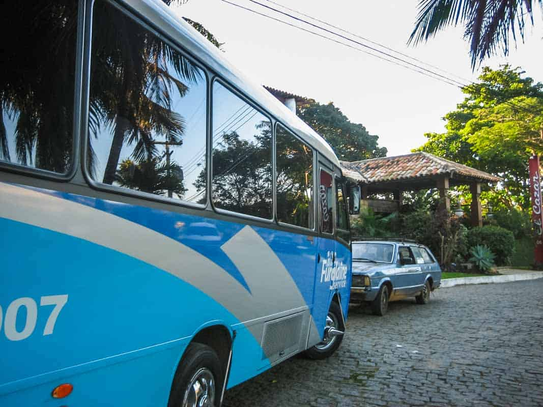 Buzios er en turistby - Brasilien