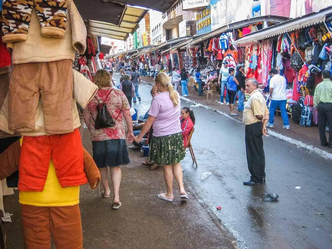 En smuttur til Paraguay - Ciudad del Este, Paraguay
