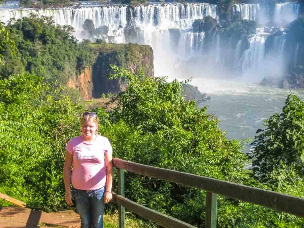 Igazu Falls imponerende vandfald - Brasilien