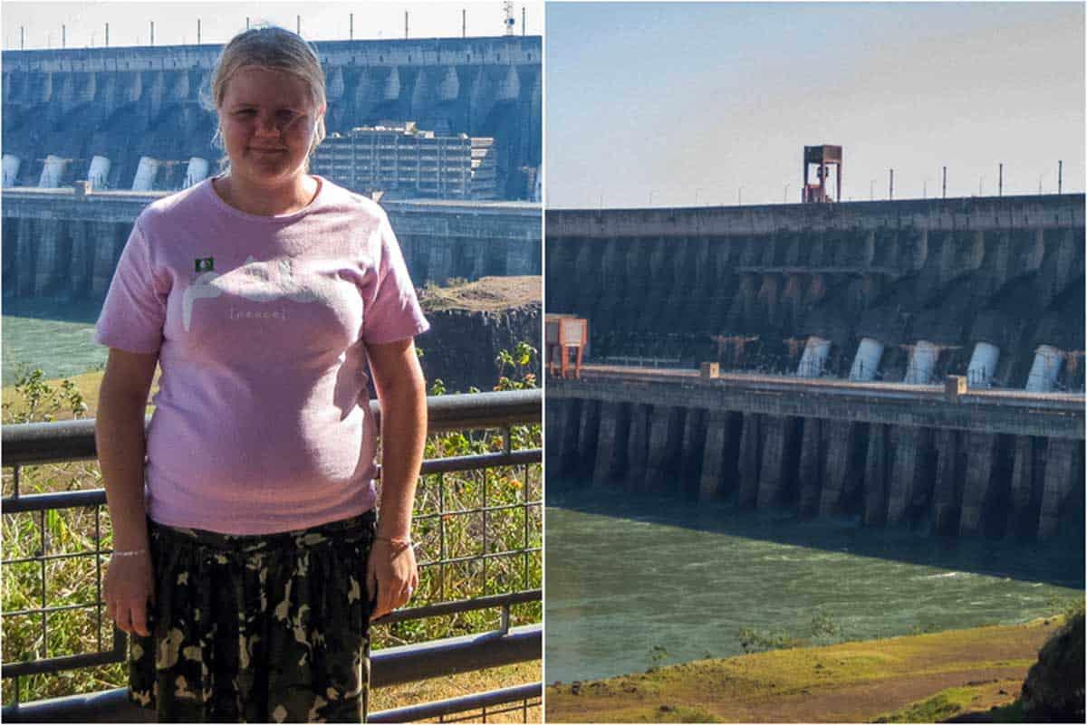 Itaipu dæmningen - Foz do Iguacu, Brasilien