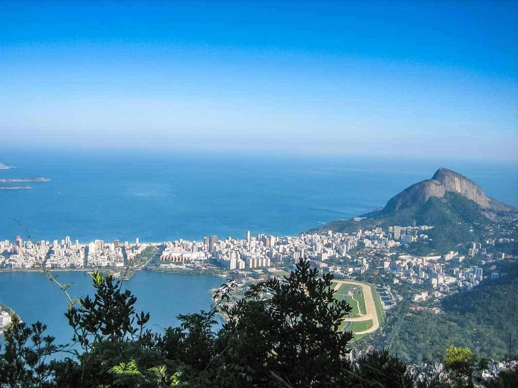 Kristusfiguren Christ the Redeemer - Rio de Janeiro, Brasilien