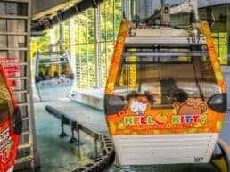 Maokong Gondola tager dig op i bjergene - Taipei, Taiwan