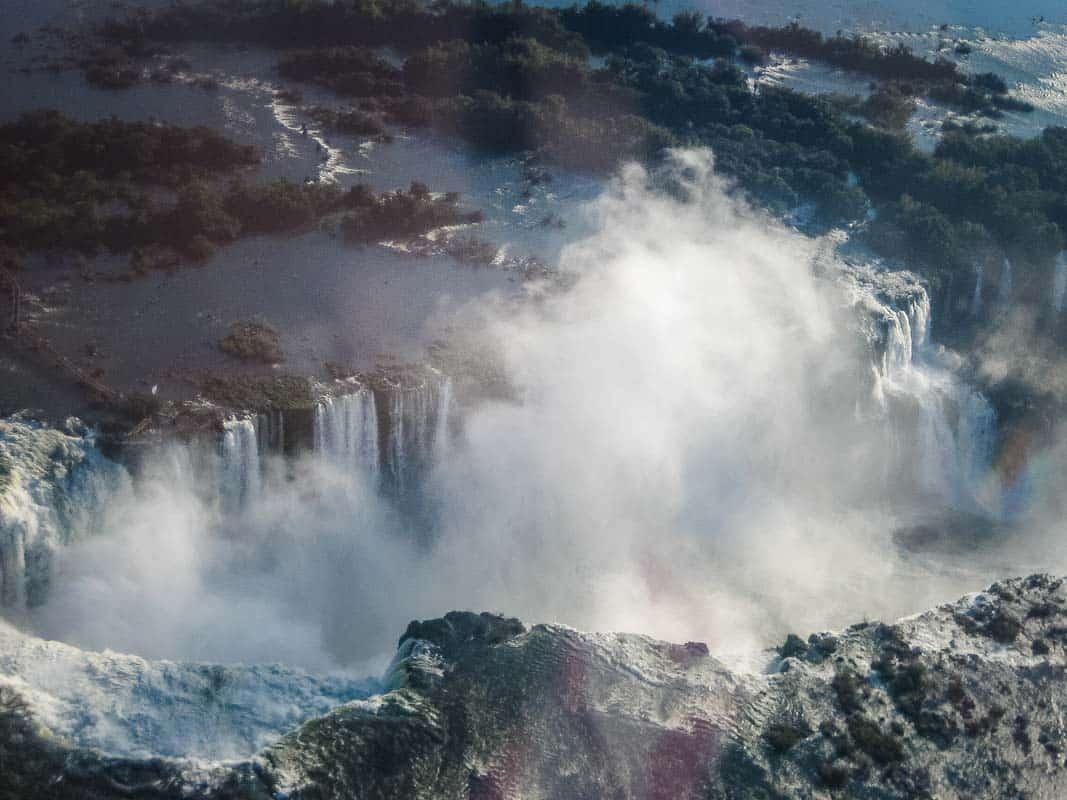 Prøv en helikoptertur over Iguazu Falls – Brasilien