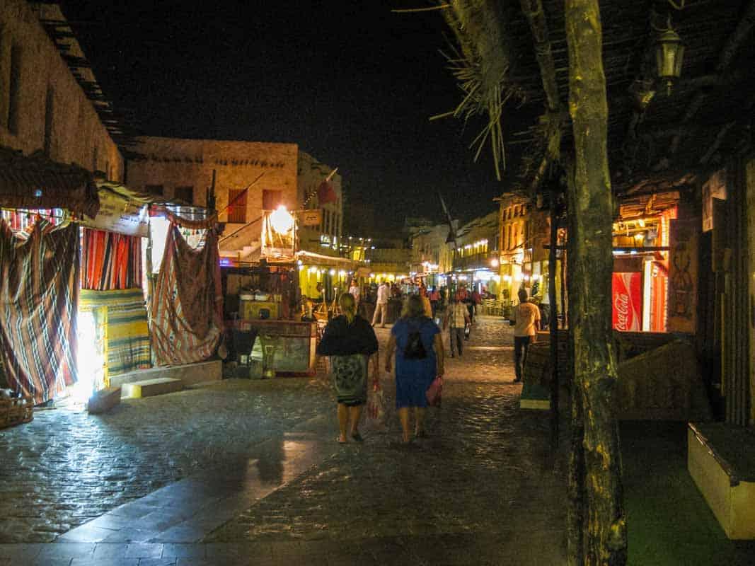 Rejsetanker om Qatar