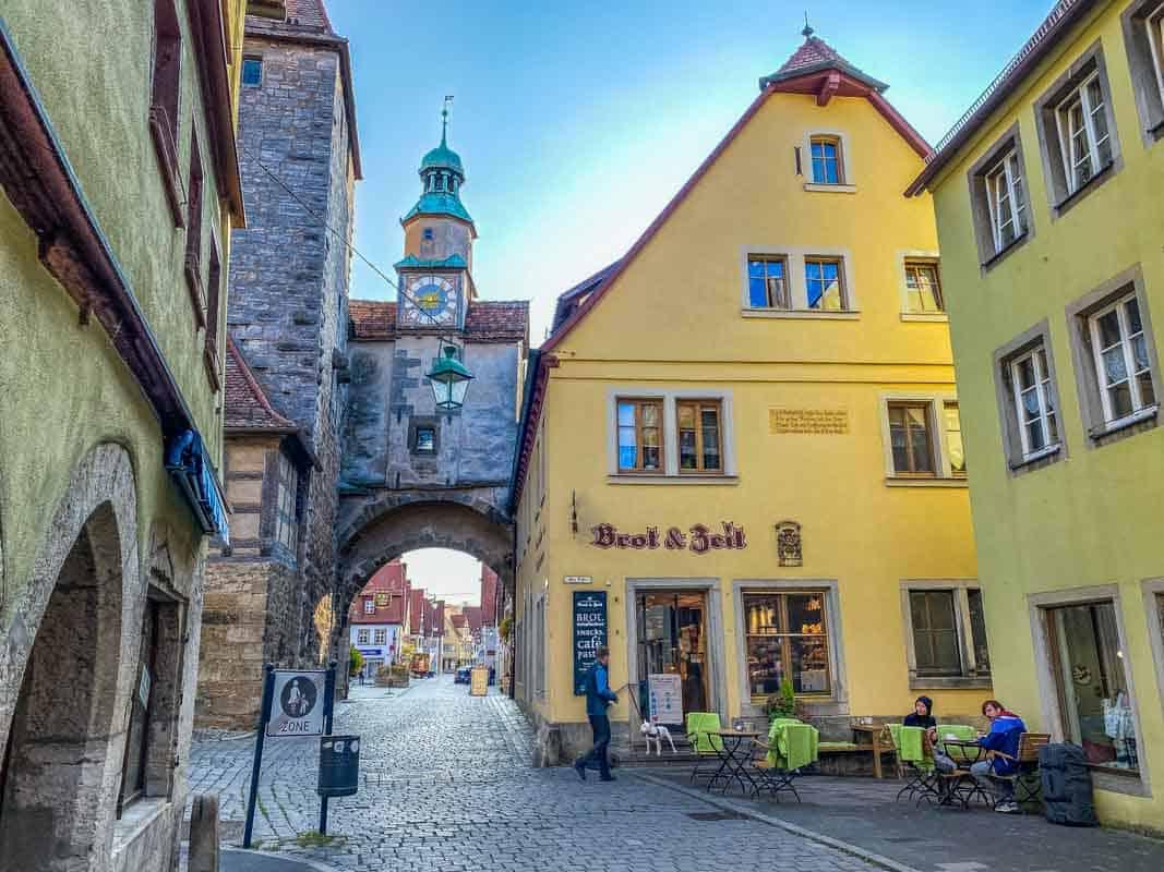 24 timer i Rothenburg ob der Tauber – Tyskland