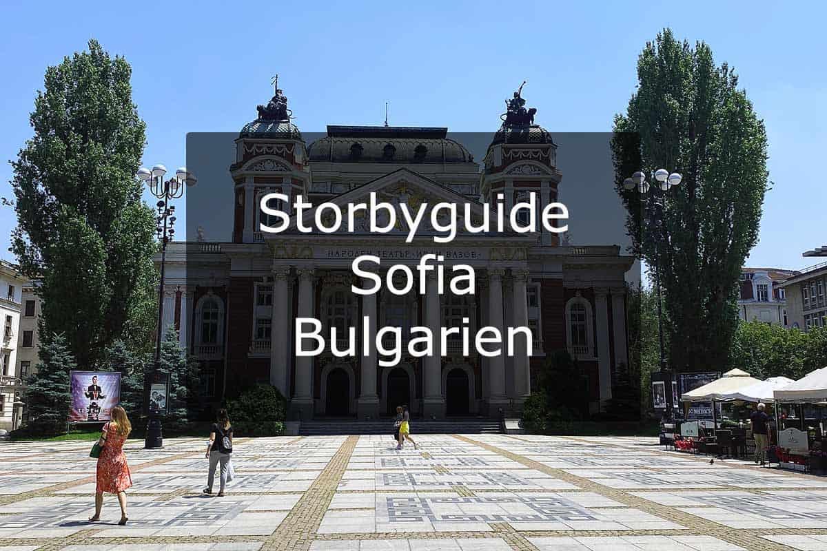 Storbyguide Sofia – Bulgarien
